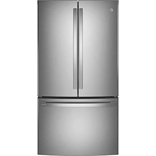GE Profile PWE23KYNFS 23.1 Cu. Ft. Energy STAR0174 Counter-Depth Fingerprint Resistant French-Door Refrigerator