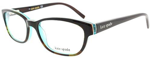 Kate Spade Blakely Eyeglasses-0JLM Tortoise Turquoise-50mm