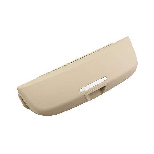 XQXSTORE Caja de Almacenamiento de Gafas con Soporte para Gafas de Coche, para Toyota Land Cruiser Prado 2700 4000-Beige