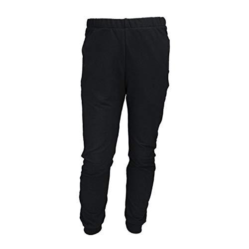 TupTam Jungen Jogginghose Sweathose Unifarben, Farbe: Schwarz, Größe: 116