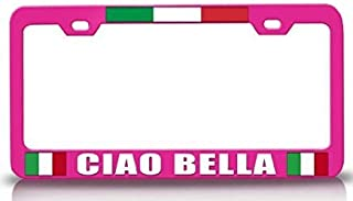 Cool Aluminum Metal License Plate Cover Frame Premium Quality Novelty/License Plate Frame Black for US Car/Motorcycle