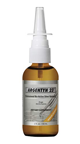 Argentyn 23® Professional Formula Bio-Active Silver Hydrosol for Immune Support* – 2 oz. (59 mL) Vertical Spray – Colloidal Silver – Colloidal Minerals – Colloidal Silver Nasal Spray