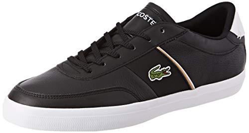 Lacoste Court-Master 319 6 CMA, Zapatillas para Hombre, Negro (Black/White 312), 41 EU