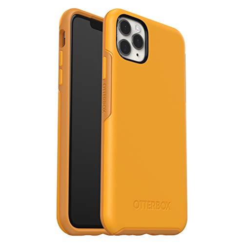 OtterBox Symmetry - Funda Anti-Caídas Fina y elegante para Apple iPhone 11 Pro Max, amarillo
