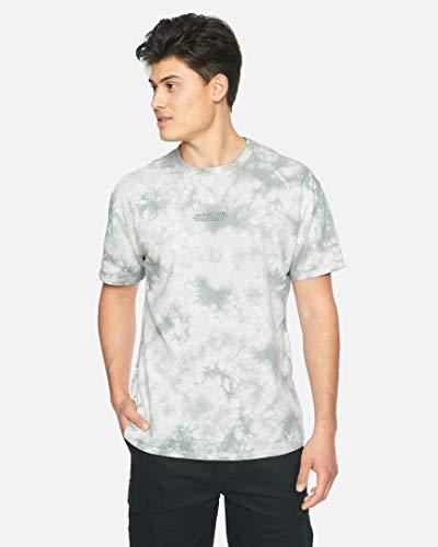 Hurley M Ziggy Tie Dye S/S Camiseta, Hombre, White, XXL