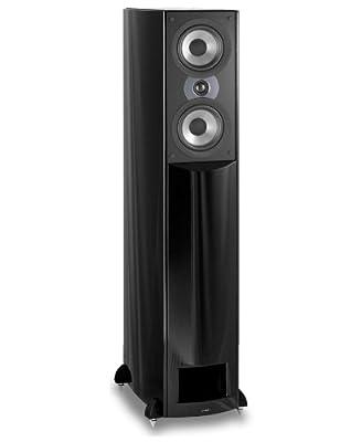 Atlantic Technology AT-1-S-GLF H-PAS Full Range Tower Speaker (Single, Gloss Black Fleck)