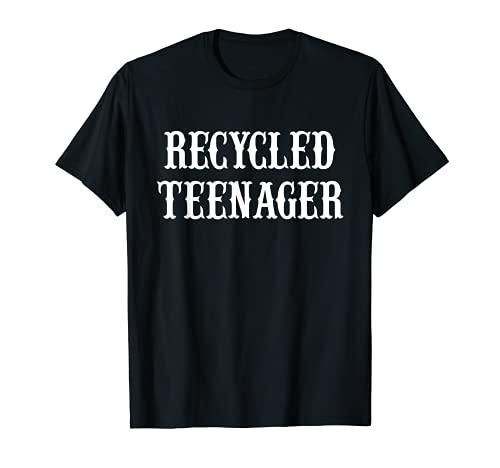 Reciclado Adolescente Viejo Camiseta