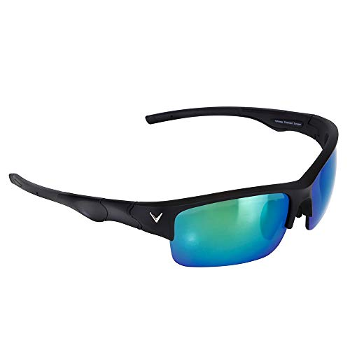 Callaway Vulcan Golf Sunglasses, Matte, Black/Graphite