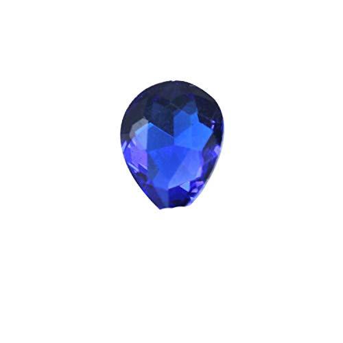 OQQE Diamante de imitación en Forma de lágrima de Gota de Agua de Cristal de 24 Colores de 6-40 MM Prendas artesanales, joyería con dijes, decoración de uñas en 3D
