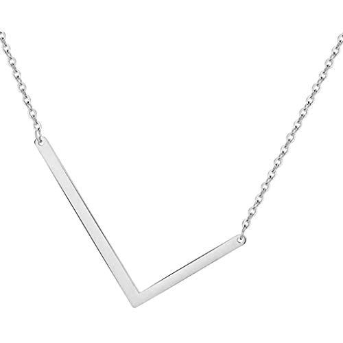Dorical Buchstabe Halsketten,A-Z Halskette, Personalisierte Gold Herz Anhänger Buchstabe Kette Alphabet,Anhänger Halsketten Frauen Mädchen Kindergeschenke Sonderverkauf(02-M,One Size)