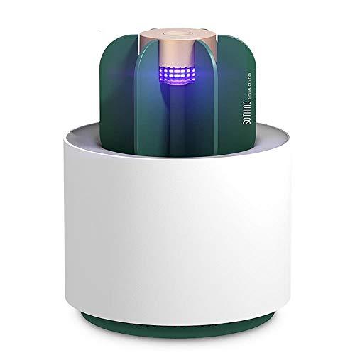 USB Sothing Cactus zanzara Luce elettrica luce UV repellente della zanzara Trappola Inodore Zanzariera Lampada for camera da letto al coperto, soggiorno, bagno, cucina, ufficio, hotel