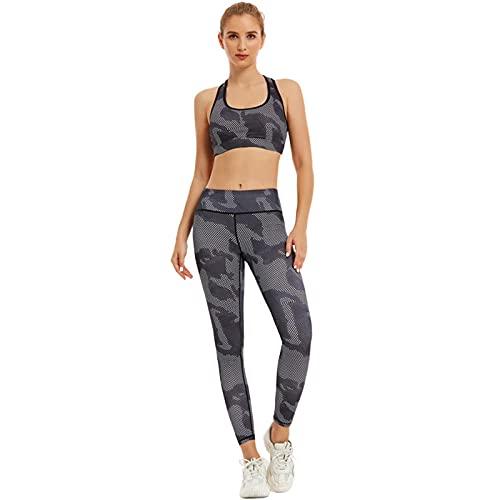 ArcherWlh Leggings Push Up Mujer, Ropa de Yoga para Mujeres, Comercio Exterior transfronterizo, Europa y América, impresión de Secado rápido, Sujetador Deportivo, Traje de Fitness, Pantalones de