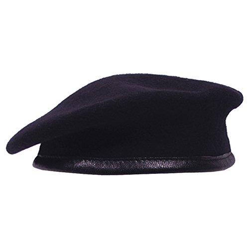 Commando Barett blau Größe 58