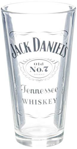 Jack Daniels lizenziertes Barzubehör-Rührglas, 568 ml, transparent