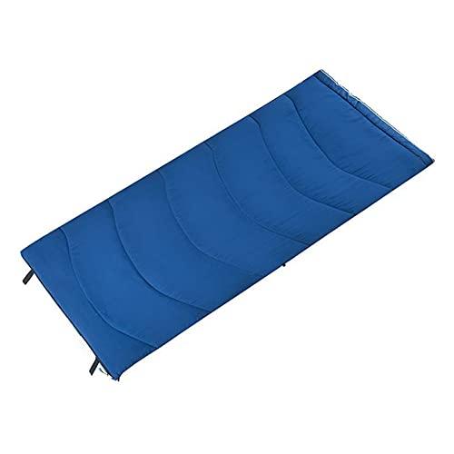 Saco Dormir Ideal para Niños en Viaje Camping Funda Vivac Festival Hotel Acampada Senderismo al Aire Libre Portátil con Saco de Compresion,Azul