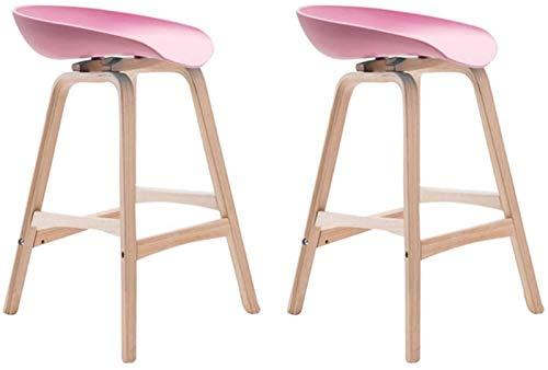 Sillas De Barra De Mostrador De Taburetes De Bar A Conjunto de tablas de bares altas modernas de 2, taburete de barra de cocina de cocina, sillas de barras con superficie de silla de PP, Altura Ajusta