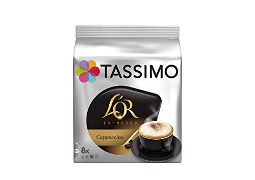 Tassimo Café Dosettes - 40 boissons L'Or Cappuccino (lot de 5 x 8 boissons)