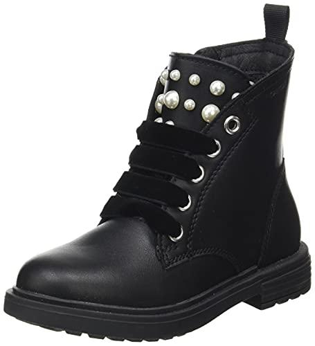 Geox Junior Girl J ECLAIR GIRL I ANKLE BOOTS BLACK_33 EU