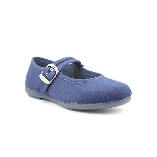 VULLADI 598 - Merceditas Terciopelo - Azul (35, Azul)