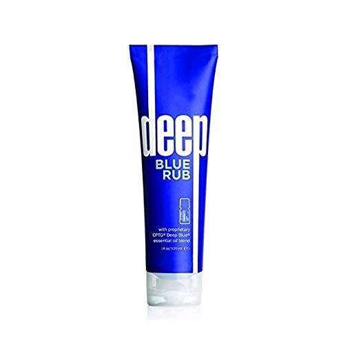 Deep Blue Rub Sports Massage Cream 4 oz