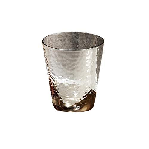 VByge Saftgläser Gehämmertes Kristallglas Cocktail Gläser Bier Phnom Penh Cup Wassergläser Hammer Ruß