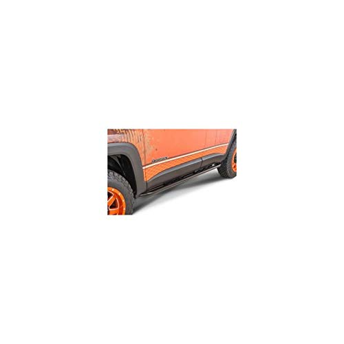 Protection Laterale Noire (2) Jeep Renegade