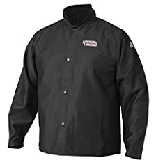 PREMIUM FLAME RETARDANT (FR) FABRIC – The jacket is made from ASTM D6413 compliant 9 oz. FR black cotton which prevents and extinguishes fire / flames. The fabric also has an anti-mildew and anti-static coating for added longevity and protection. SUP...