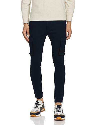Life Men's Flat Front Track Pants (206236289_Navy_30)