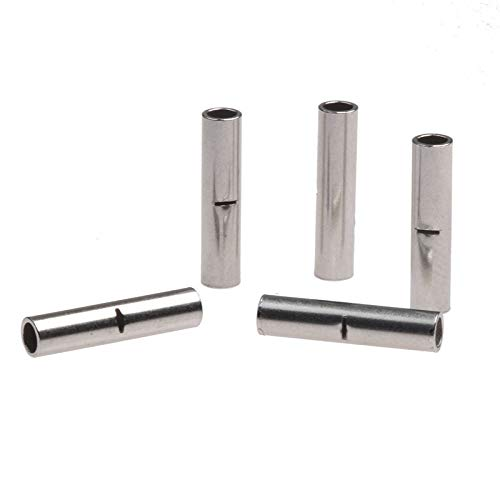 WFBD-CN Batterieklemmen 0.5-1.5mm2 Bootlace Cooper Ferrulen Set Draht Kupfer-Crimp-Verbindungs Insulated Cord Pin End Terminals Kit 22-18 AWG (Color : 50Pcs)
