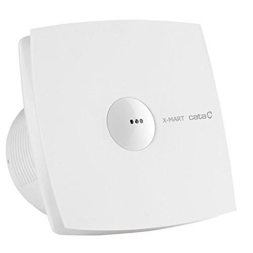 Ventilator Cata X-Mart 10 Matic - ventilator met automatische daling systeem wit