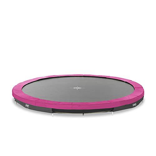 Trampoline - EXIT Silhouette Inground - 366 cm - Roze