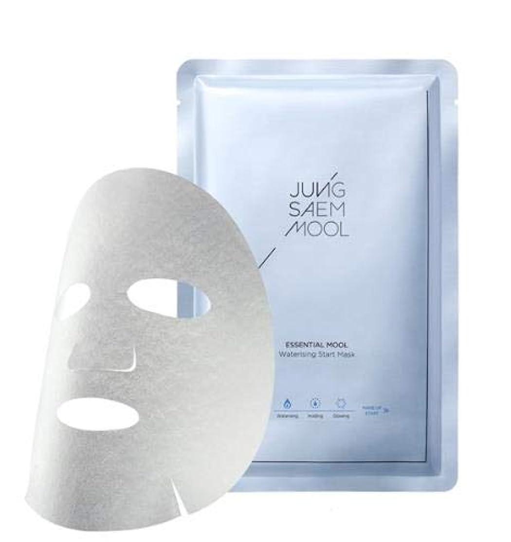 防止喜劇心理学JUNGSAEMMOOL Essential Mool Waterising Start Mask (5P) ジョンセンムル エッセンシャル ムル ウォーターライジング スタート マスク (5枚) [並行輸入品]