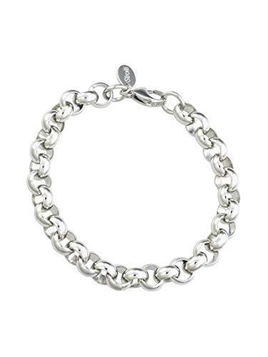 STROILI–Armband Erbskette aus Stahl–1612087