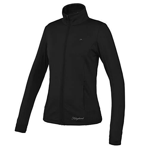 Kingsland Fleecejacke für Damen PATQUIA Damenjacke, Black Größe XS