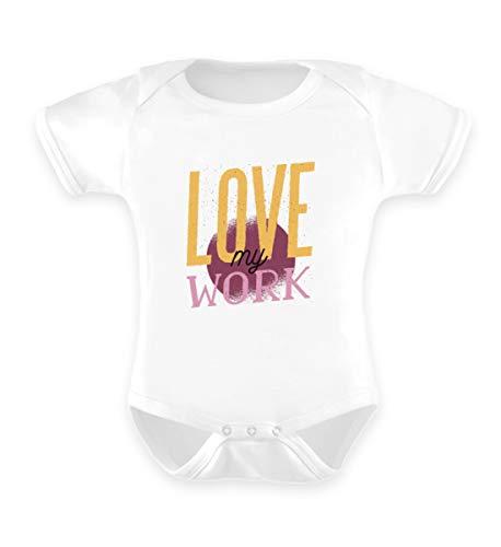 Enomis Hustler Reseller Entrepreneur Geschenk - Baby Body -12-18 Monate-Weiß