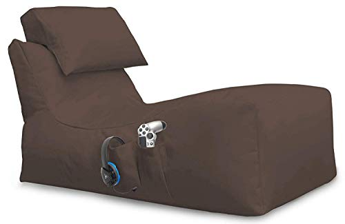 Giant Bag Lying Beanbag - Puf para XBOX360, XboxOne, PS4, Nintendo Swi