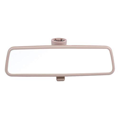Espejo retrovisor para automóvil, Akozon espejo retrovisor interior interior HD de pantalla grande 3B0857511G Reduce el punto ciego de manera efectiva para Golf MK4 99-05 (Beige)