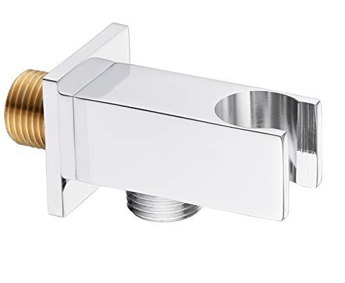 Keenware KSA-005 - Codera de ducha con soporte, cromado