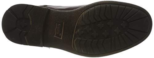 Levi's Herren Emerson Biker Boots, Braun - 5