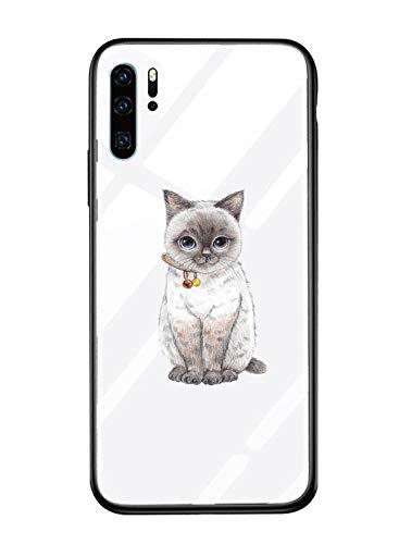 Caler Cover Compatibile con Xiaomi Mi Mix 2S Custodia Protettiva in Vetro Temperato 9H 【AntiGraffio】 + Cornice Paraurti in TPU Silicone Morbido 【Antiurti】 3D Design Vogue Ultra Chic