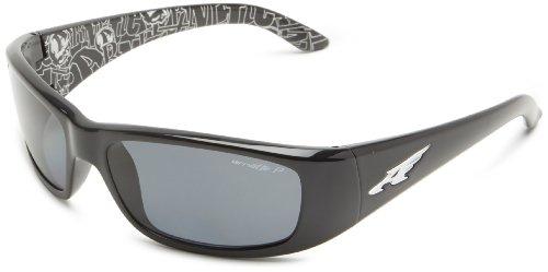 Arnette Herren 0AN4178 214881 59 Sonnenbrille, Schwarz (Black/Polargrey)