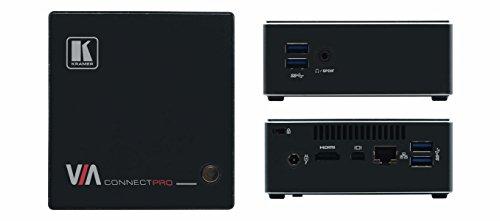 KRAMER VIA 87-000690 Connect PRO drahtloses Praesentationssystem 4USB RJ45 IN HDMI und mini DP out