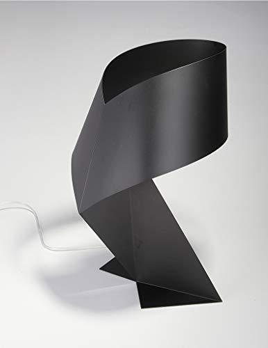 Tischlampe Moderne Minimalistische Schwarz-weiß-origami-tischlampe E27 Led-dekorleuchte Für Wohnzimmer-tischlampen Für Schlafzimmer-himalaia