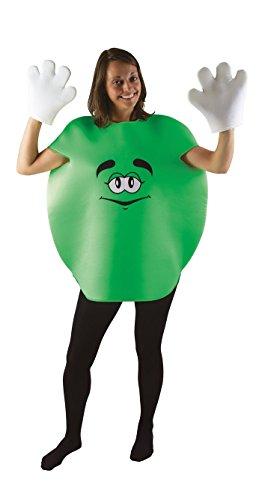 P'tit Clown76704–Disfraz para Adulto de Caramelo Redondo, Talla única, Verde