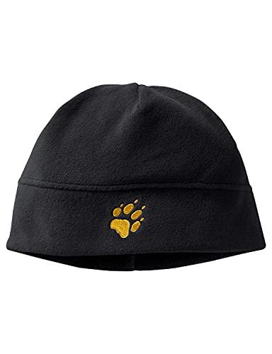 Jack Wolfskin Unisex Kinder REAL STUFF CAP K Mütze, black