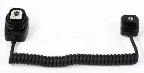 Cable de flash externo E-TTL II 1,0 m para Canon Speedlite 580EX...