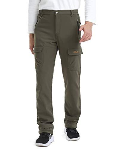 Nonwe Men's Quick Dry Waterproof Fleece Snow Hiking Pants | Amazon