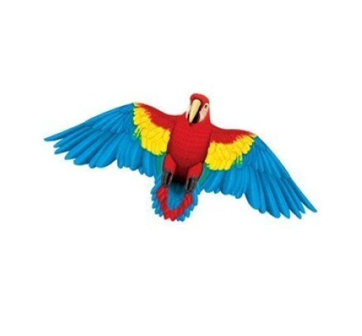 Gayla Industries 851 Macaw Parrot Wildlife Wing Flapper Kite-55