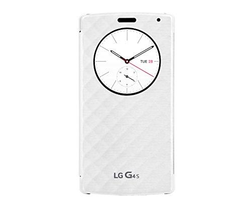 LG Mobile CFV-110.AGEUWH Quick Circle Buch-Schutzhülle für G4 s weiß