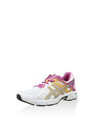 ASICS Damen Gel-Essent 2 Sneaker, weiß/Silber/pink, 39.5 EU